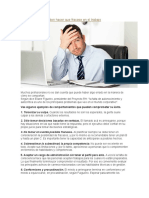 7 Actitudes Que Pueden Hacer Que Fracase en El Trabajo