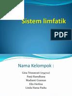 Presentasi Sistem Limfatik