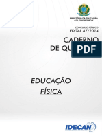 Prova Educação Fisica Colegio Pedro II