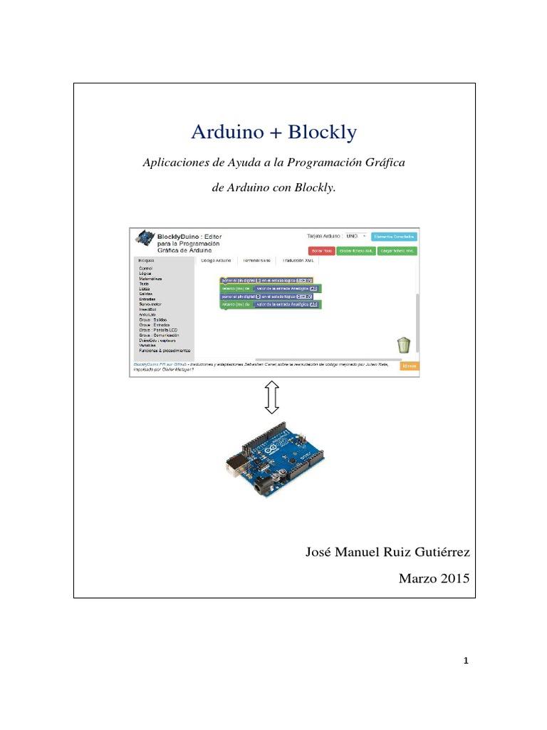 Arduino + Blockly pdf | Arduino | Entorno de desarrollo