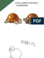 ASÍ VIMOS OS DE 3 ANOS D ARTURO