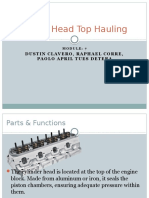 Cylinder Head Top Hauling