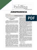 Doctrina vinculante en procesos judiciales sobre usurpación