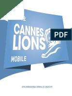 Cannes Lions 2012 Winning Campaigns Mobile En
