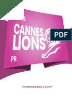 Cannes Lions 2012 Winning Campaigns Pr En
