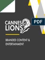 Cannes Lions 2014 Branded Content Entertainment En