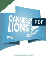 Cannes Lions 2012 Winning Campaigns Print En
