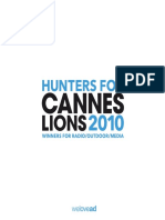 Cannes Lions Outdoor Media Radio En