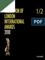 London International Awards en 2010-12-14