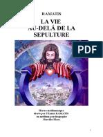 Ramatis Fr 03 La Vie Au-Delà de La Sépulture 1957 HM Jys