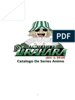 Catalogo de Series Anime 2016