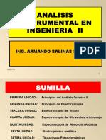 Diapositivas Analisis Instrumental en Ing II 2015