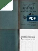 Spitfire IX, XI and XVI