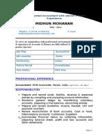 Midhun CV