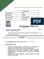 Muhammad Fasil - New