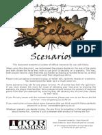 TorG Relics Scenarios