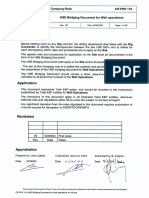 CR FPS 110 HSE Bridging Document for Well Operations Rev 00