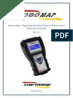 Obdmap - Honda - Hornet (2008 a 2011) - Programação de Chaves - Rev. 1.1