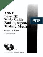 RT Level III Study Guide