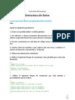Convenciones de Java