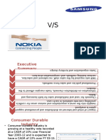 Samsung vs Nokia Sales and Distrbution