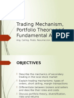 Technical and Fundamental Analysis