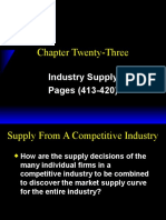 Ch23 Industry Supply