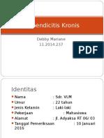 Case Appendicitis Kronis