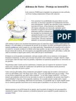 Cuidado con los problemas de Forex - Proteja su inversión