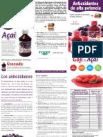 Antioxidantes de alta potencia Evicro