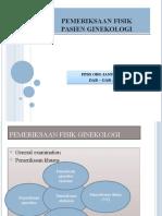 PEMERIKSAAN FISIK  ginekologi