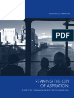 New York City of Aspiration Middle Class Report