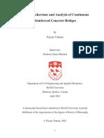 Seismic Behaviour and Analysis of Continuous Reinforced Concrete Bridges