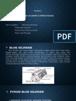 Blok Silinder dan Poros Engkol