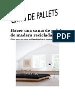 Muebles de Pallets Como Construirlos