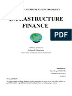 Industry Analysis - Infrastructure Finance