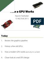 How a GPU Works - Kayvon Fatahalian