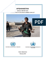 Unama Protection of Afghan Civilians Annual Report 2015