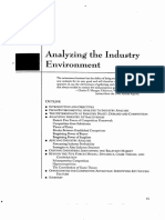 Analyzing the Industry Environment_cap 3