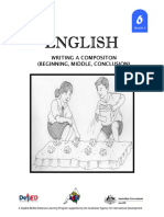 English 6 Dlp 9 Writing a Composition Beginning Middle Coclusion 150603124539 Lva1 App6892