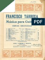 Fuga Joh. Seb. Bach Música Notada de La 1ª Sonata Para Violín Solo 1 for Guitar (Tarrega)