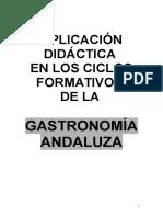 Aplicación Didáctica a Los CF de La Gastronomía Andaluza