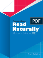 Read Naturally Placement Packet