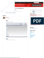 Tutorial - Creating Hex Nut in SolidWorks  GrabCAD
