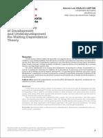 Economía Política del Desarrollo y el Subdesarrollo Revisitando la Teoría de la Dependencia