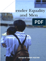 Gender Equality and Men - Learning From Practice