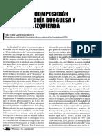 Ecuador 90s Crisis de La Izquierda y Recomposición de La Hegemonía Burguesa