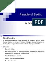 Parable of Sadhu play