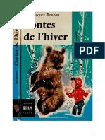 Bonzon P-J Contes de l'Hiver 1960