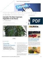 Cannabis_ the Most Important Vegetable on the Planet